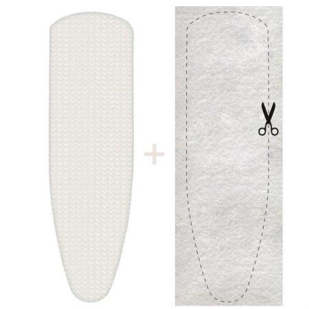Strijkplankhoes met molton, voor extra strijkcomfort