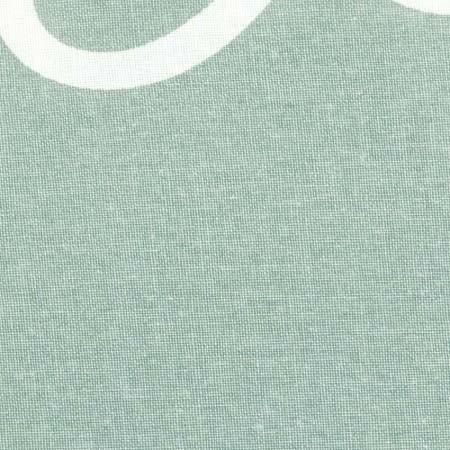 groene stof strijkplankhoes